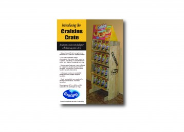 Display l Ocean Spray l Craisins